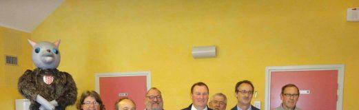 Remise de la médaille du travail à Louvignies-Quesnoy