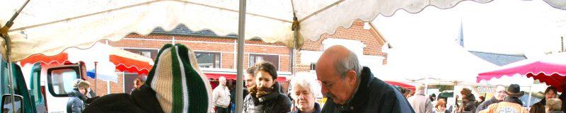 Le marché bio de Louvignies-Quesnoy