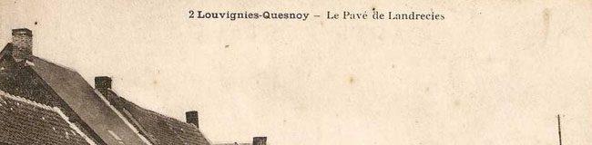 C'était comment avant ? Louvignies-Quesnoy ?