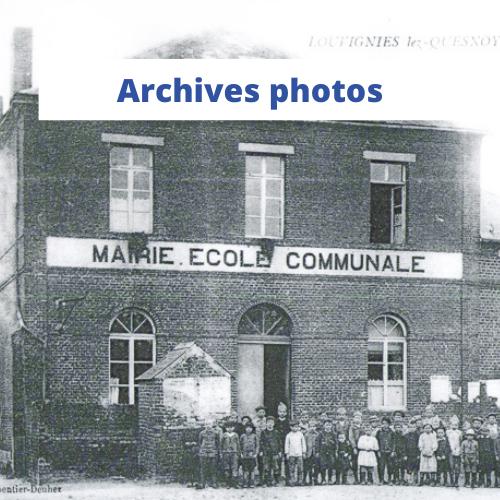 archives photos Louvignies-Quesnoy- Gwen Communication